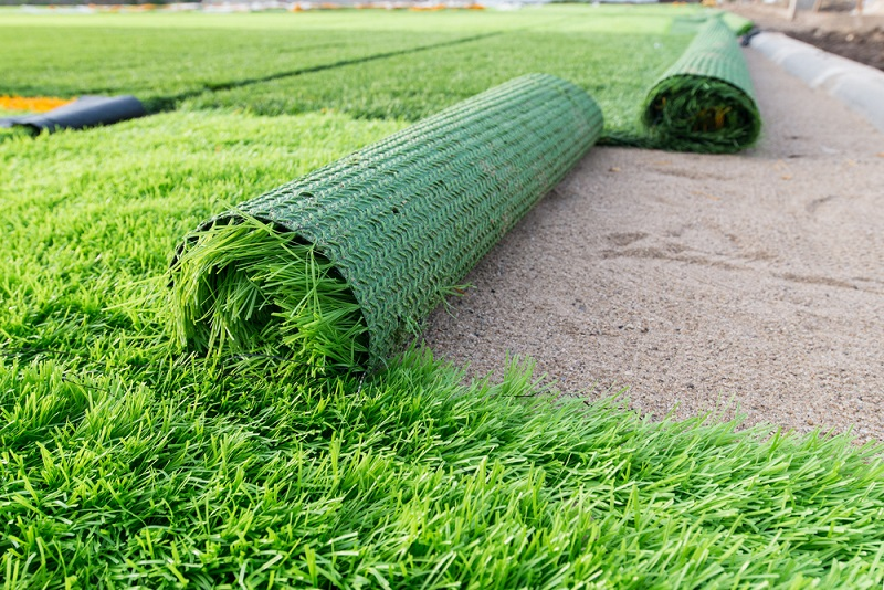 synthetic grass roll up