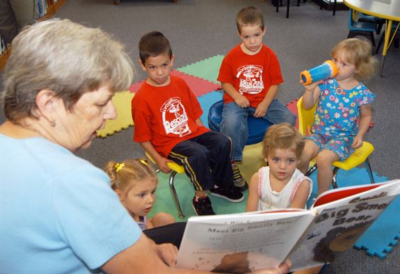Growing Old reading to children