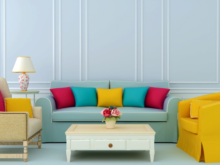 Decorating With Color furniture at home