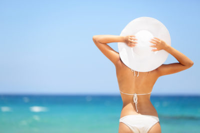 Fashion Hacks for summer white bikini