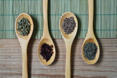 New Recipes spoons of herbs