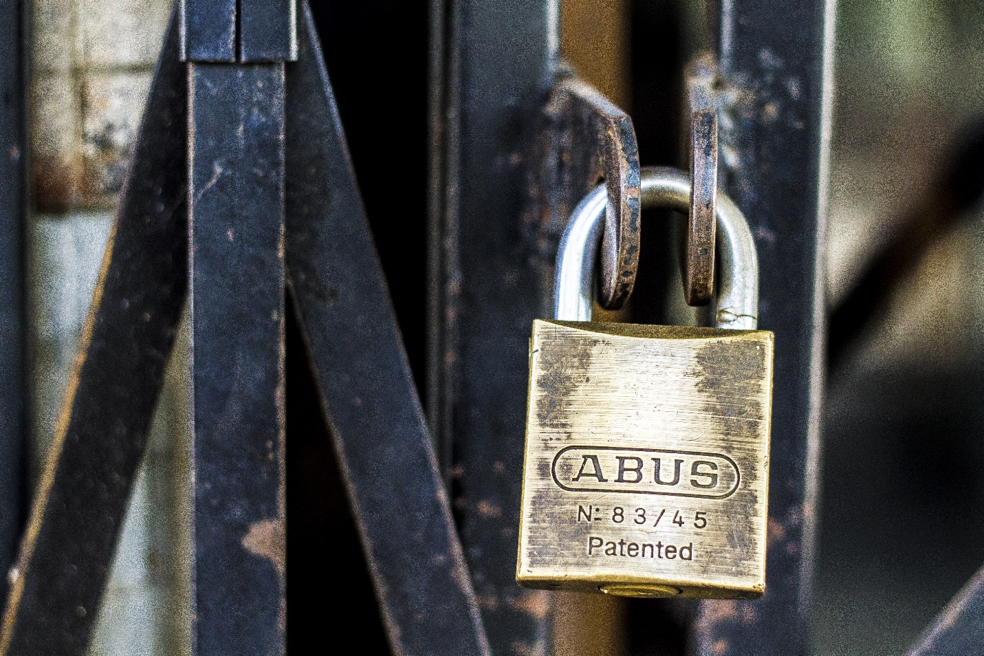 Protect Your Home with padlock