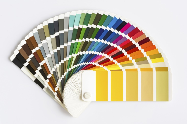 Decorating With Color palette wheel pantone