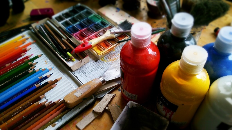 Prepare Your Old Saw Blade channel arts paints