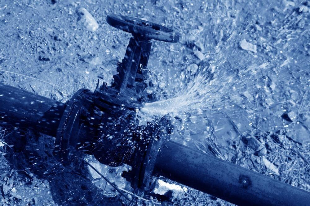 Water Damage valves bursting