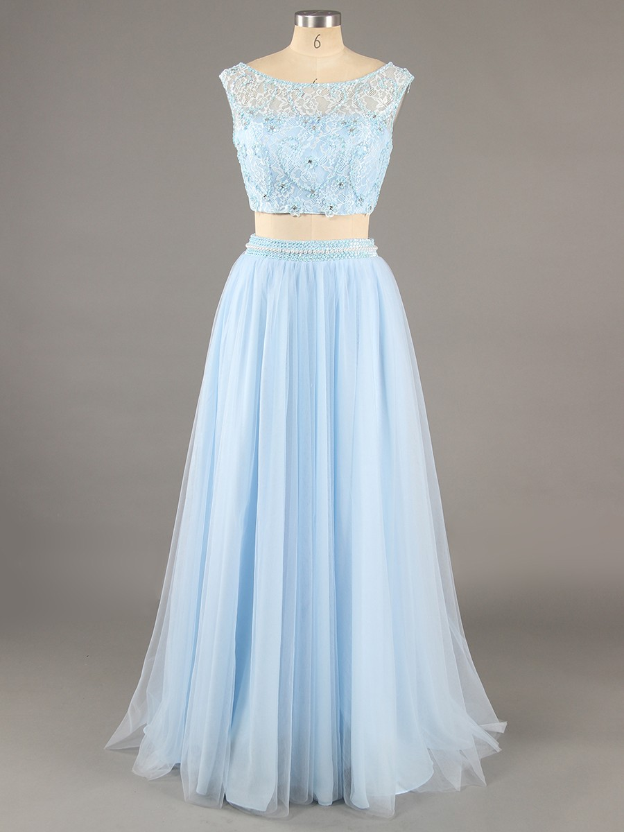 Wedding & Bridal Party light blue dress