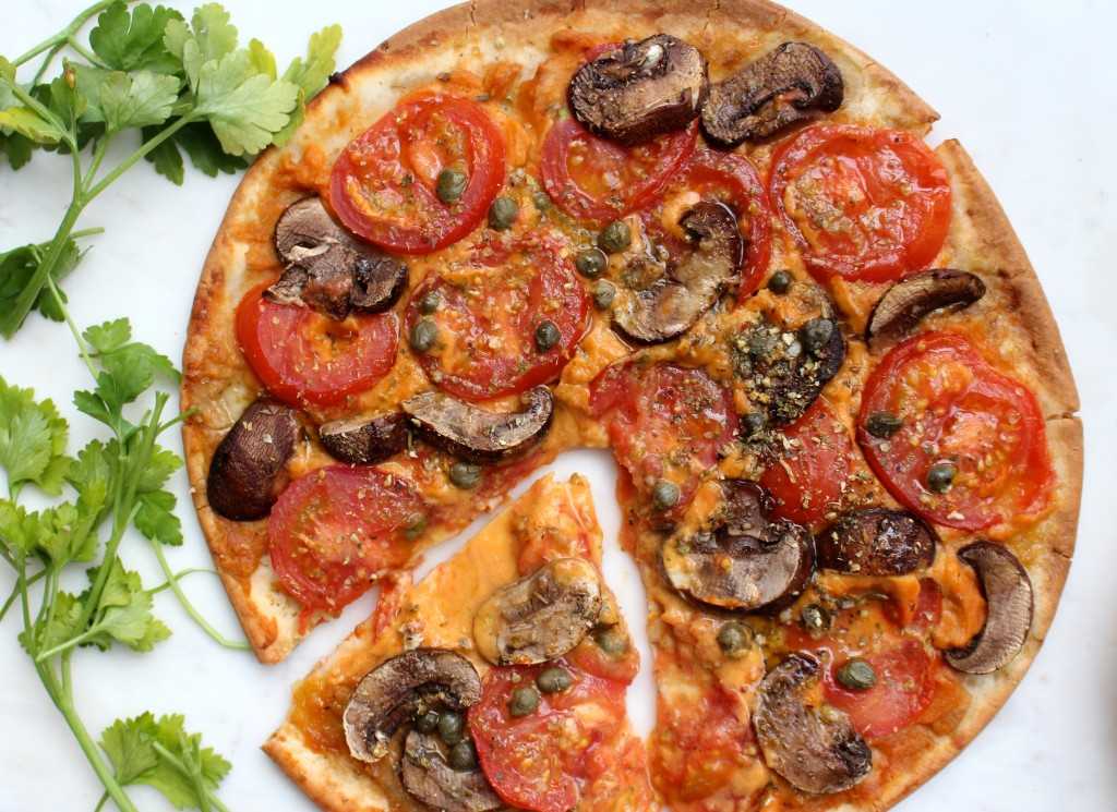 Pizza Myths tomato and mushroom