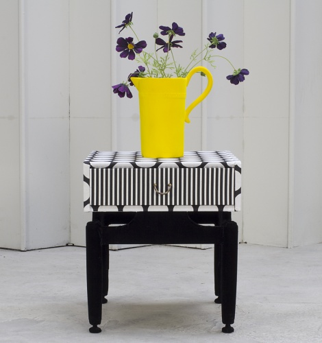 Accent Colour yellow flower vase