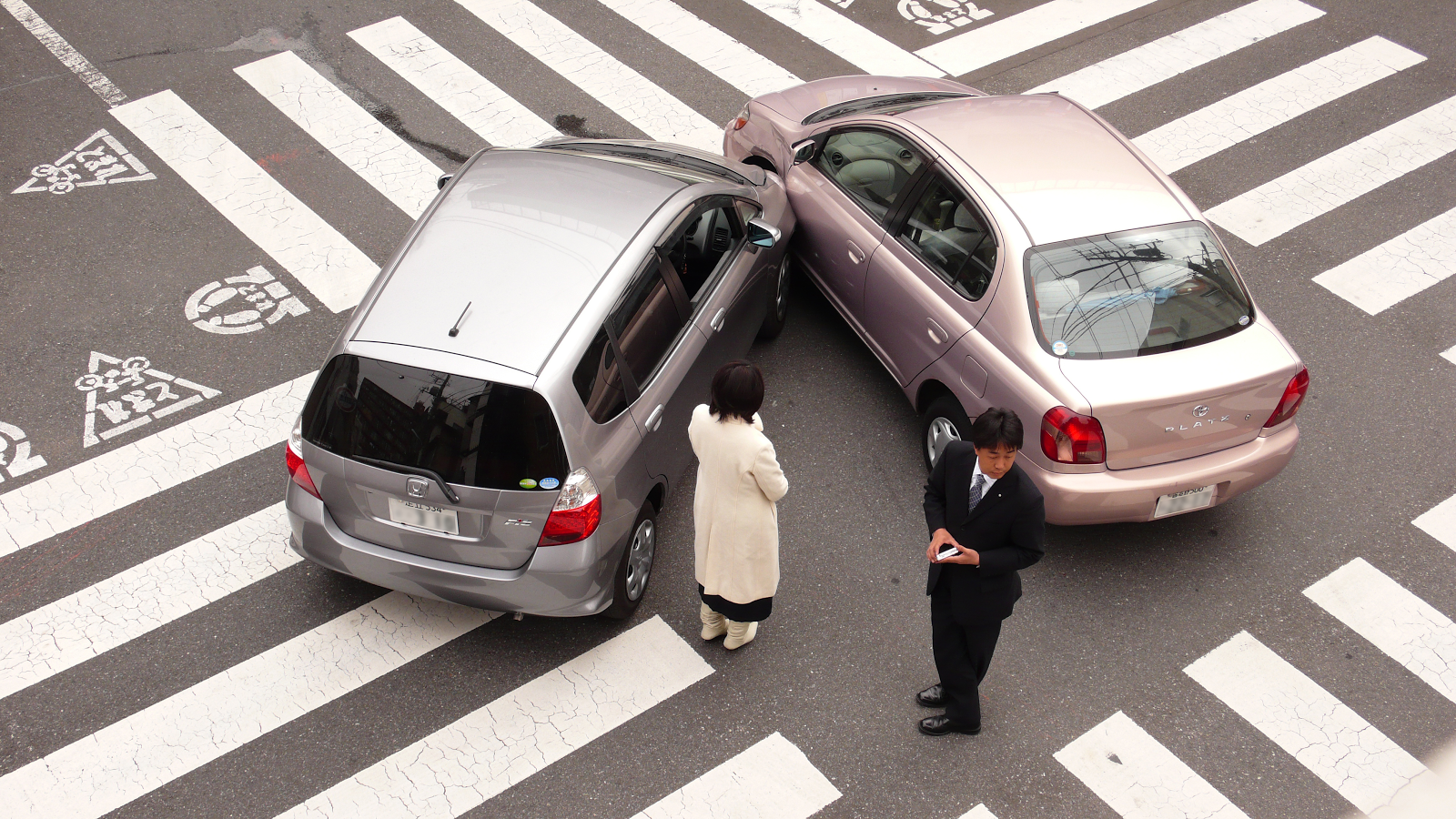 Vacation Dangers car crash