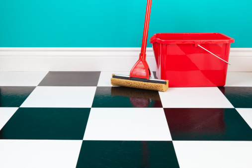ceramic tile floors checkered