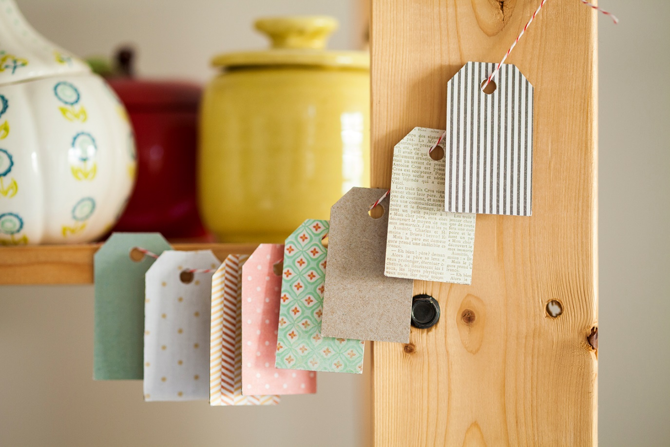 DIY Creative Ideas hanging tags