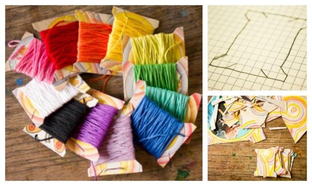 DIY Creative Ideas yarn spools