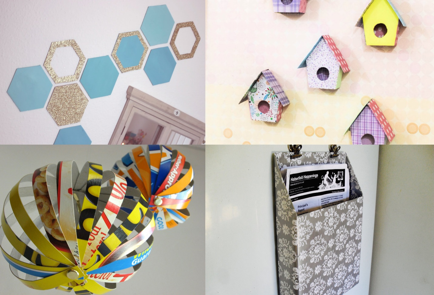DIY Creative Ideas bird houses