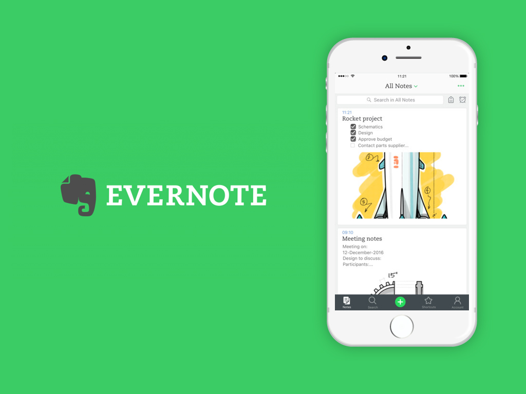 evernote application for students
