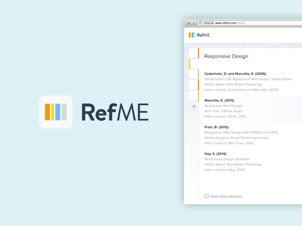refme application for students