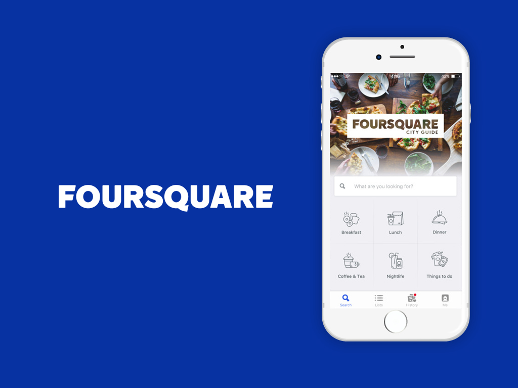 foursquare application for students