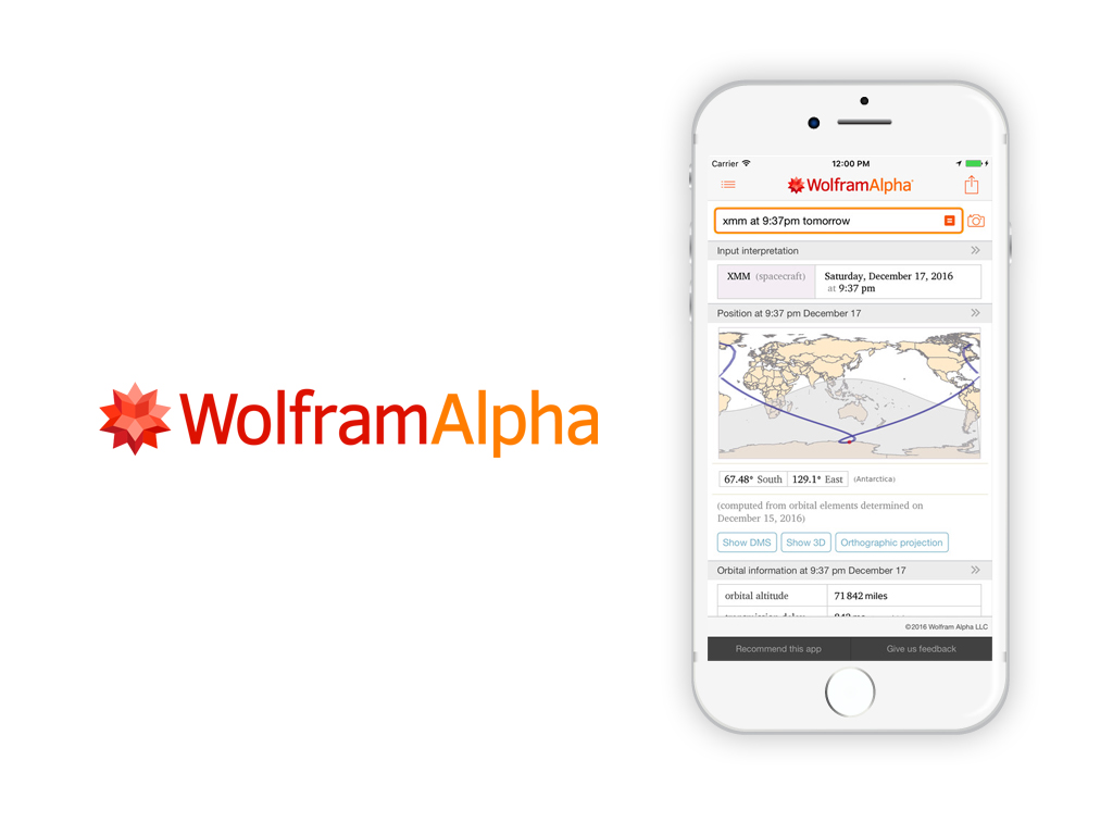 wolfram alpha application for students