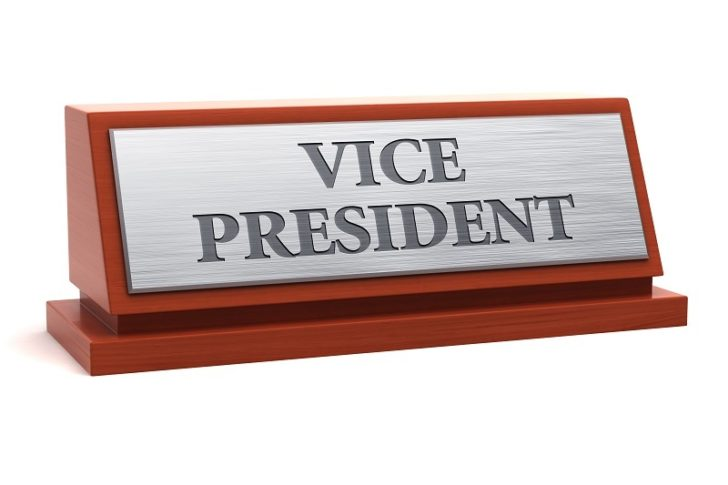 Desk Nameplates vice president