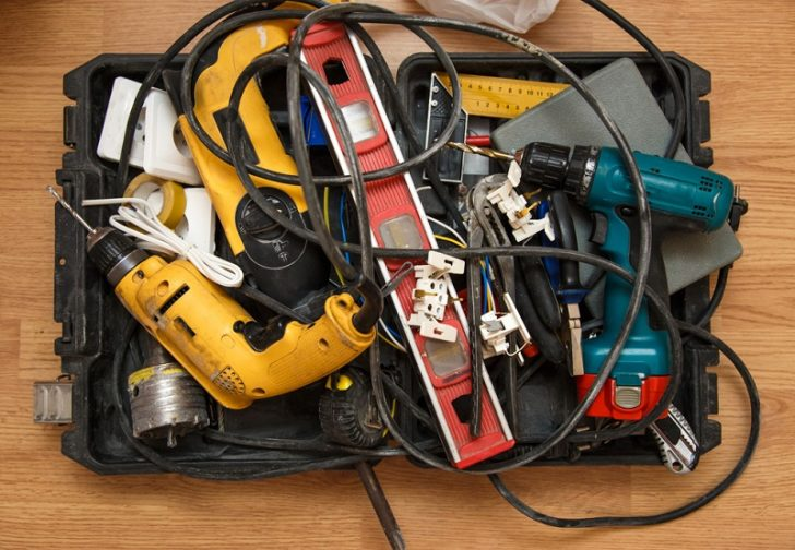 Electrical Contractor tools of the trade