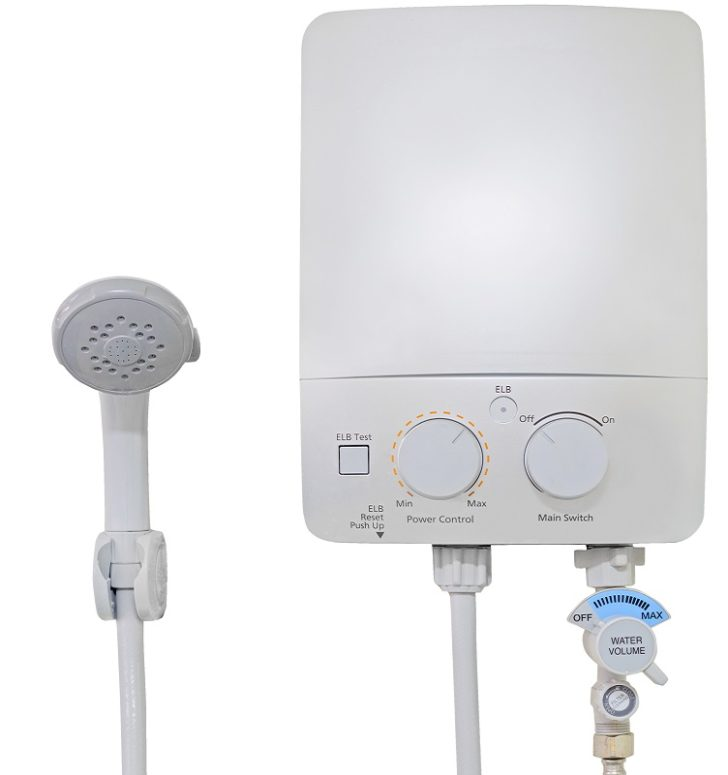 Hot Water System white controls
