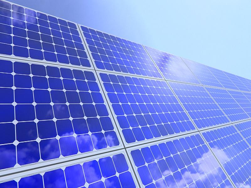 Solar Power Systems blue