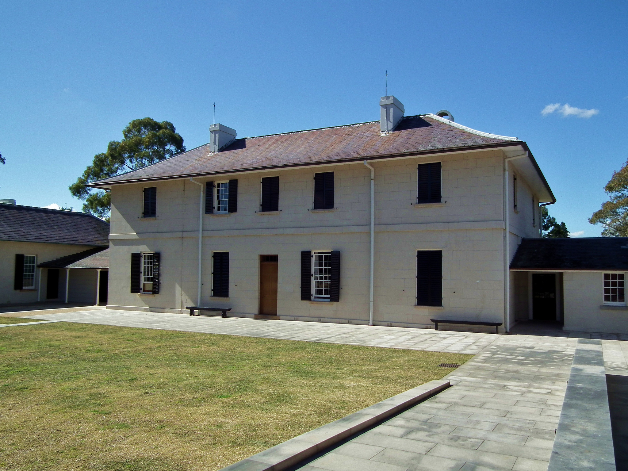 Parramatta old government house