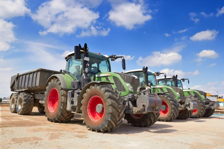 Tractor for Farming Work