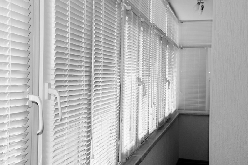 Window Plantation Shutters line up