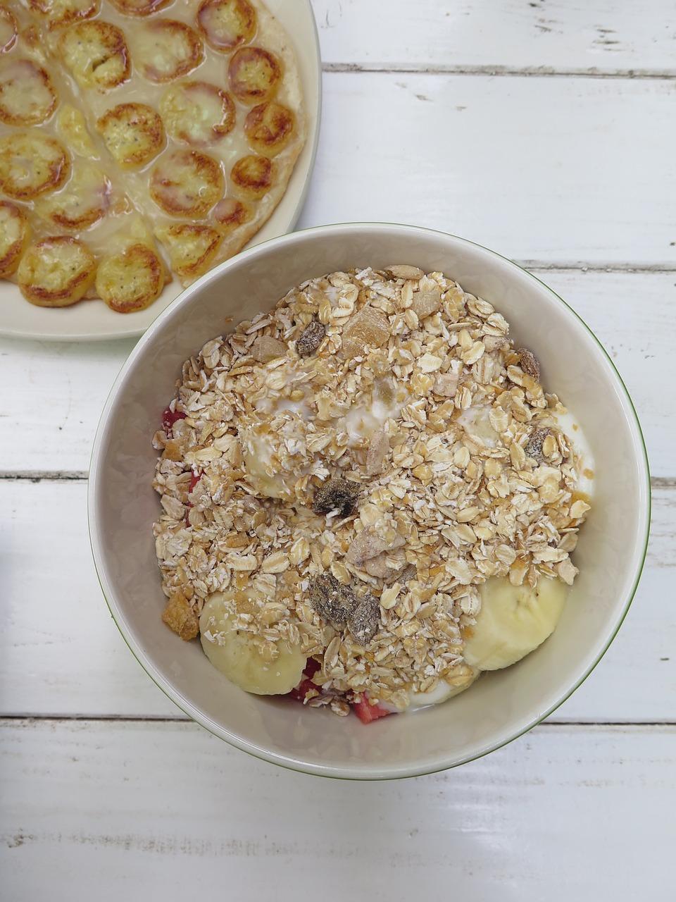 Easy Protein Food oatmeal breakfast