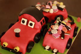 Cake Ideas shaped train