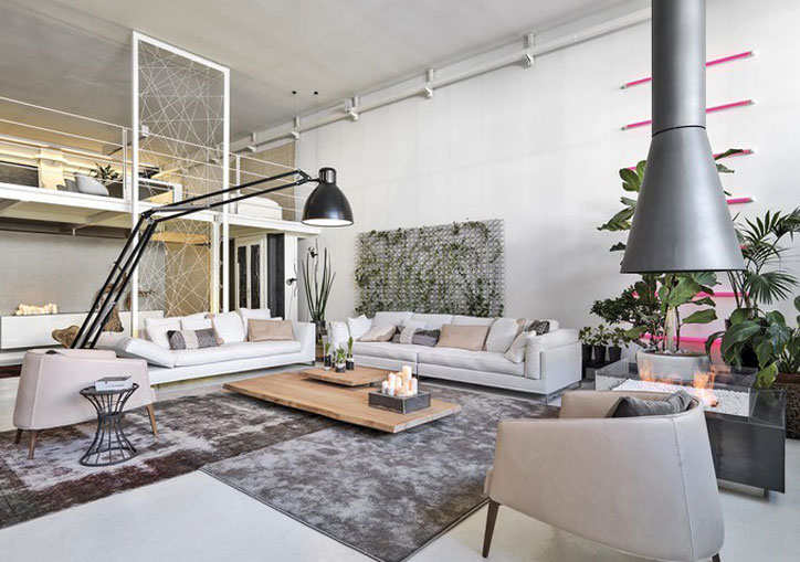 Interior design open space living