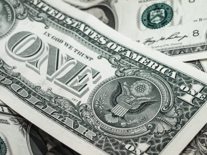 sanctioning a loan money dollar bill