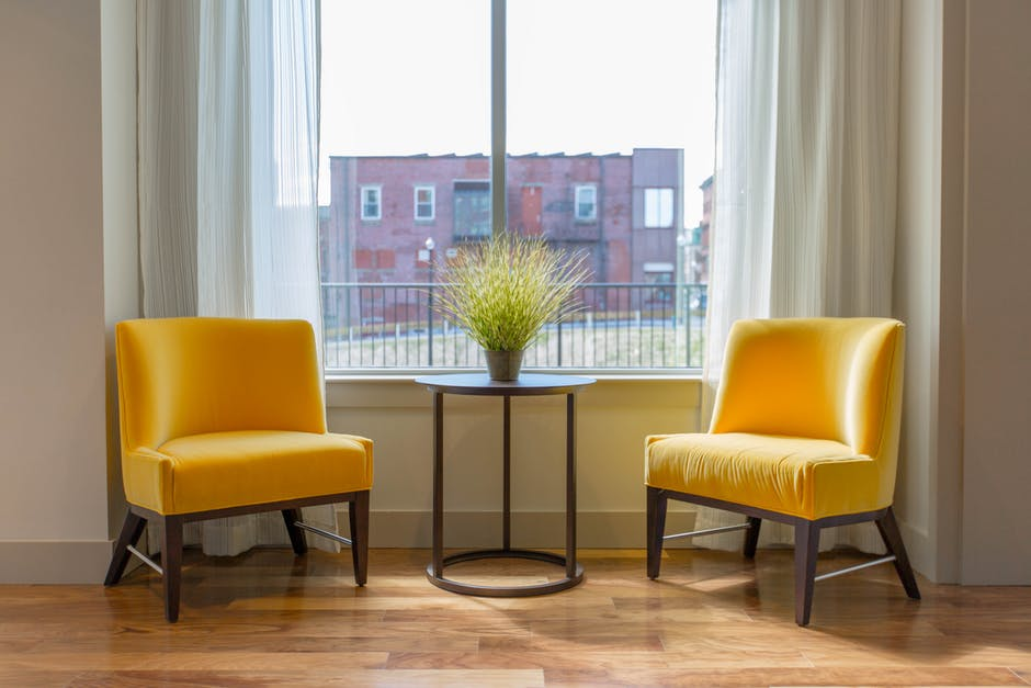 Revamp Your Space chairs by window