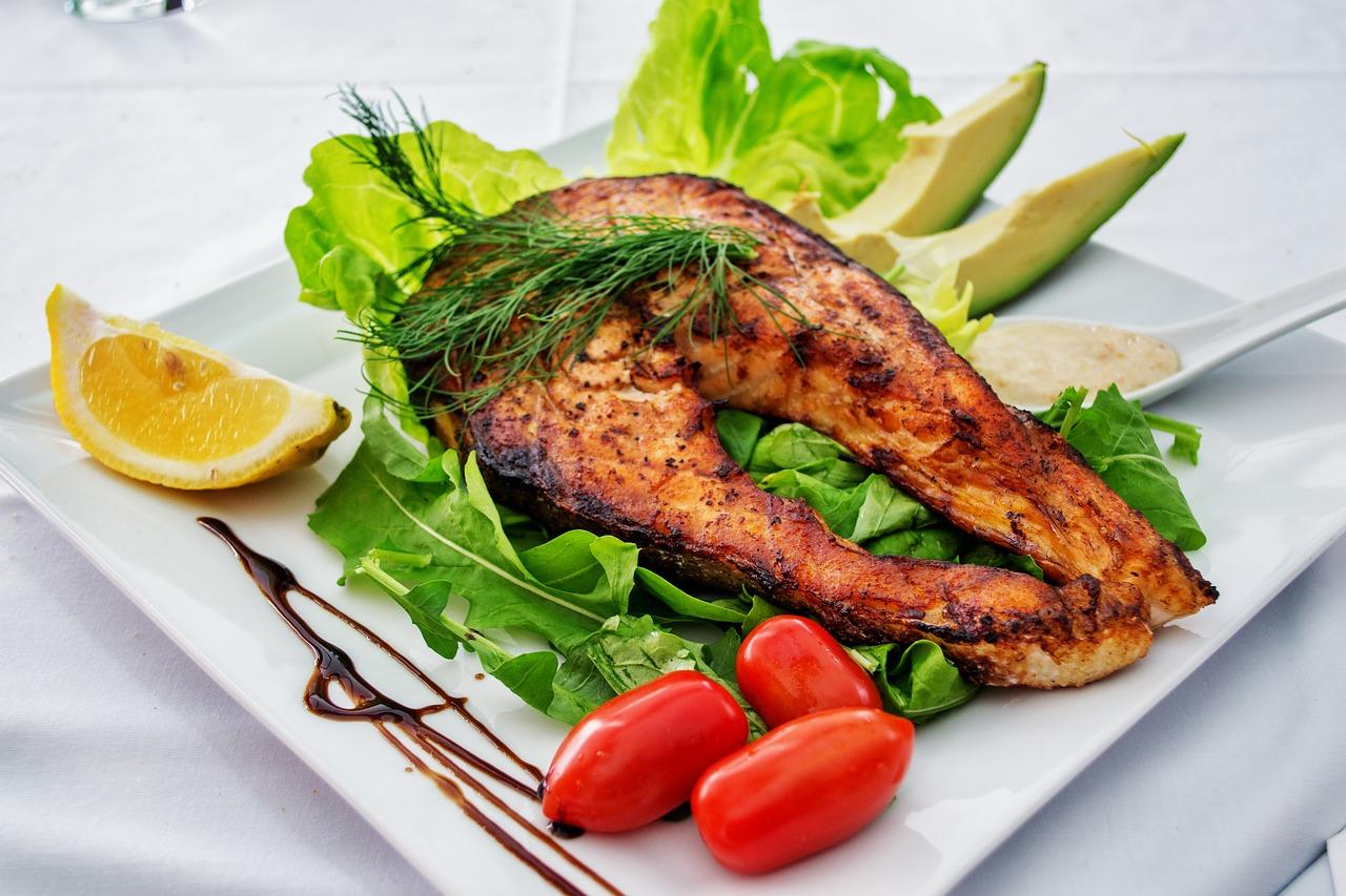 Easy Protein Food salmon