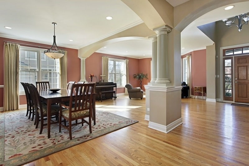 Timber Flooring for Your Home pillars