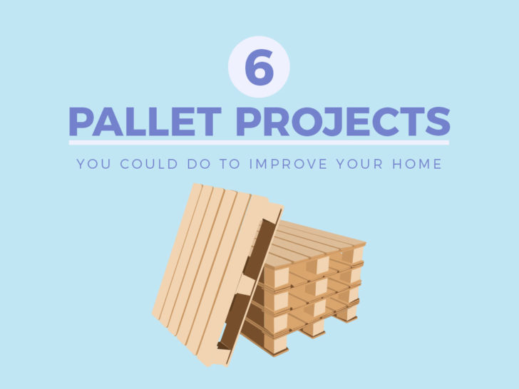 6 pallet projects to improve the home