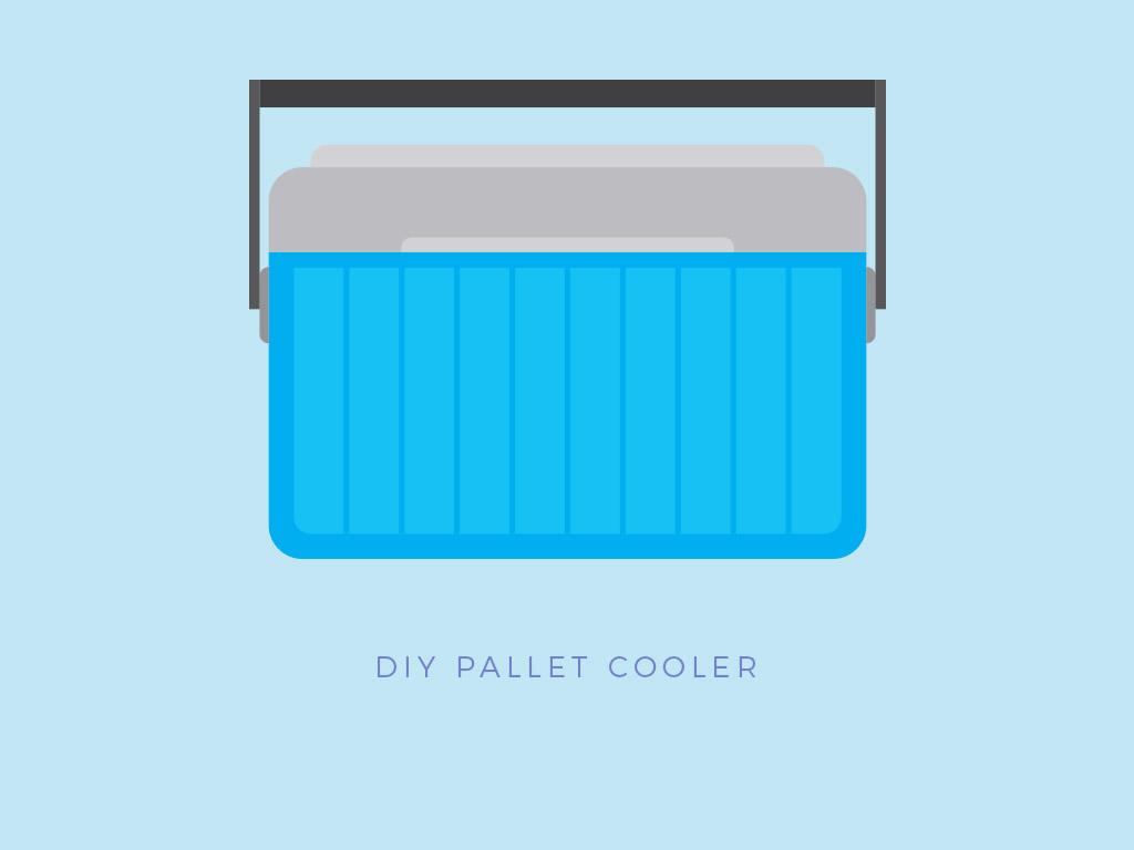pallet project cooler