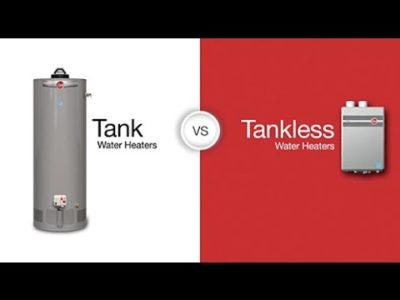 Should I Go For A Tank Or A Tankless Water Heater?