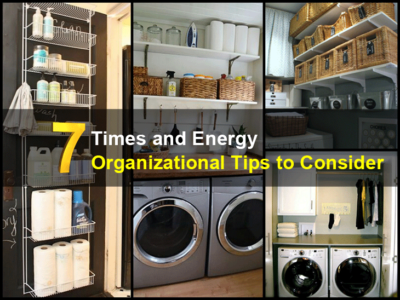 7 Time and Energy Organizational Tips to Consider