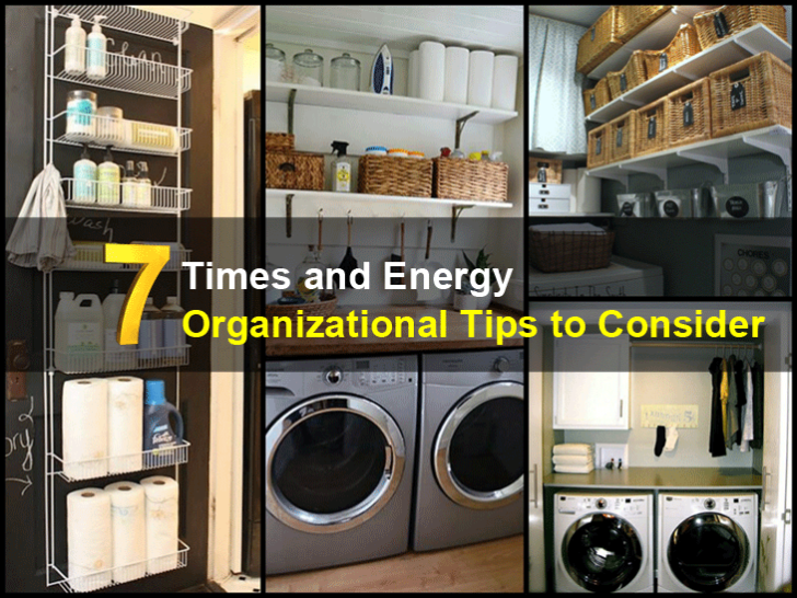 7 Times and Energy Organizational Tips to Consider