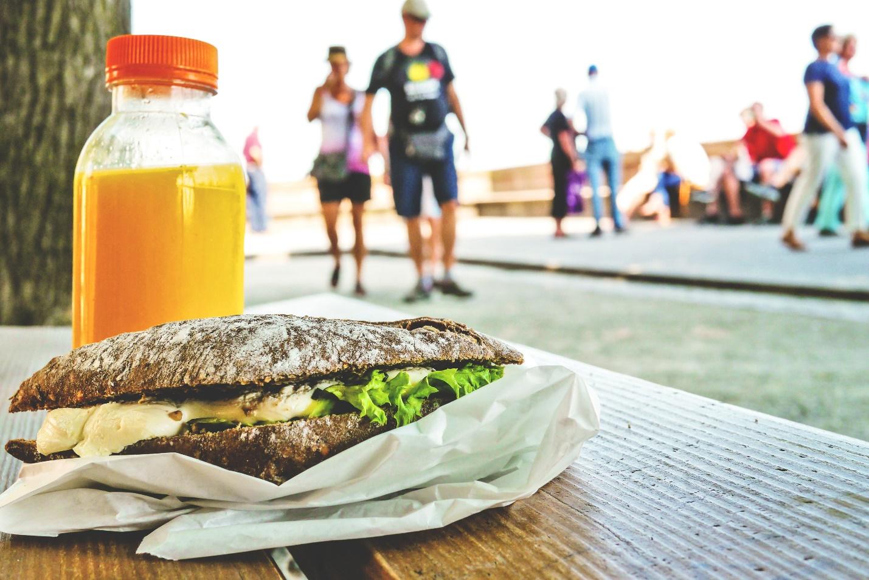 Healthy Snacks Recipes outdoor sandwich
