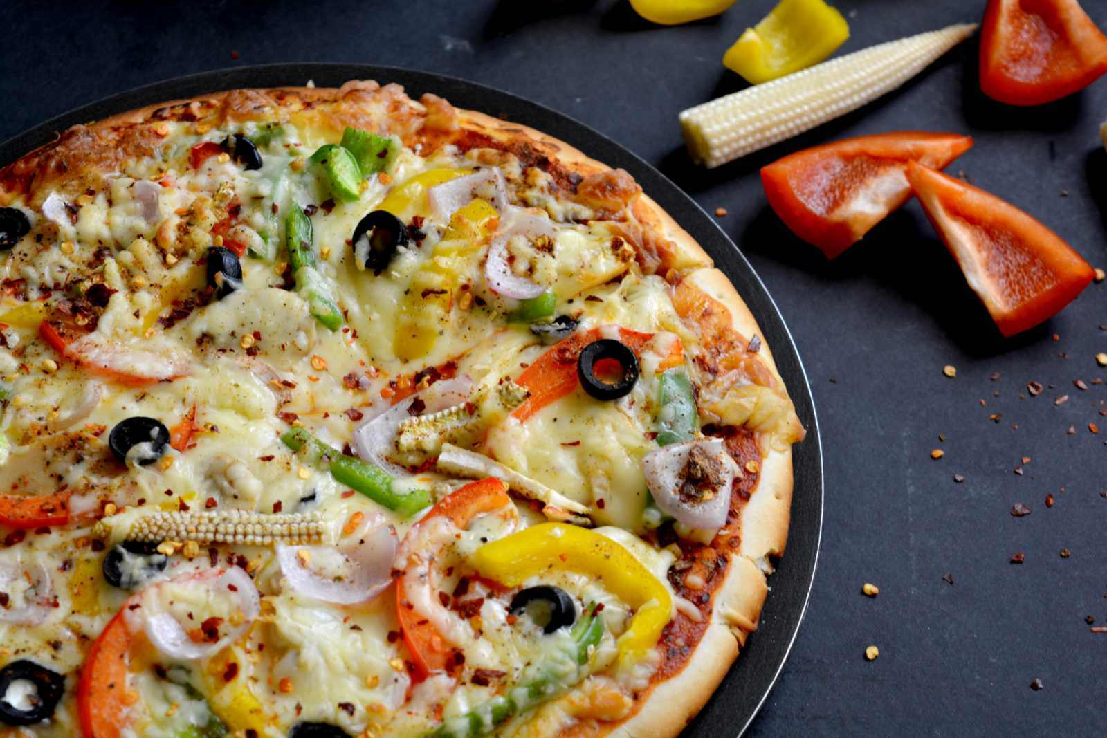 DIY Recipe: Making A Healthy Veggie Pizza At Home cheese with veggies