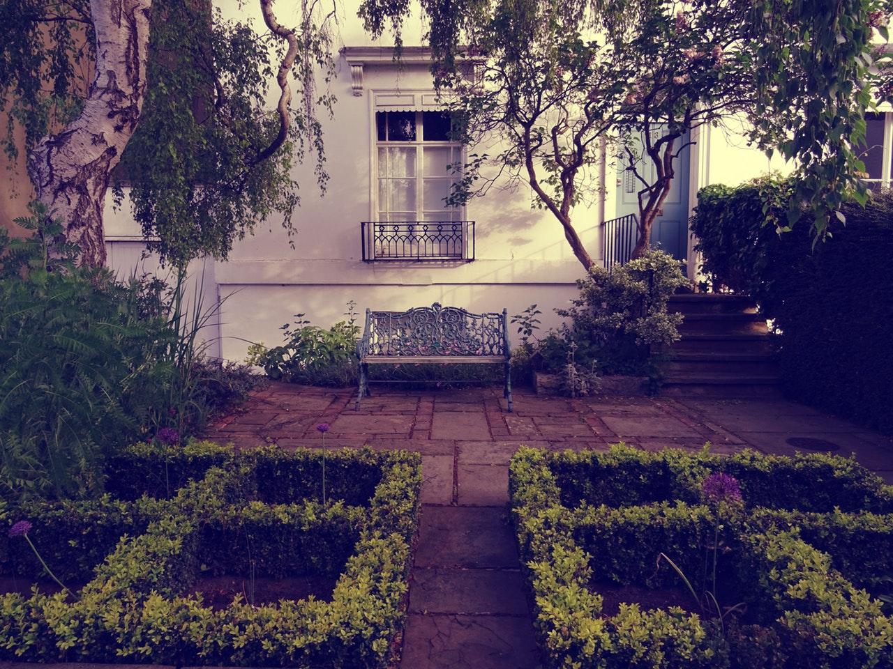 Home Repair landscaping flower maze