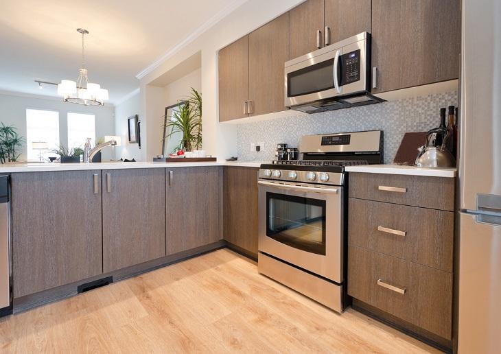 Innovative Kitchen Designs modern cupboards