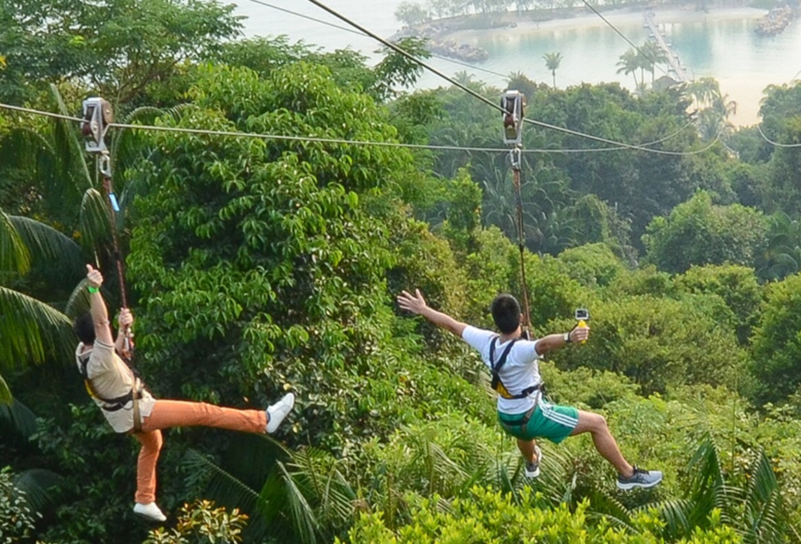 Mega Adventure Park Zipline singapore