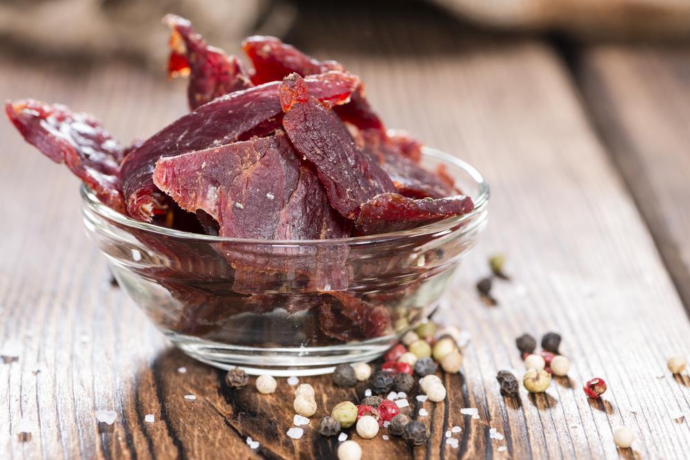 Best Paleo Jerky Recipes in glass bowl