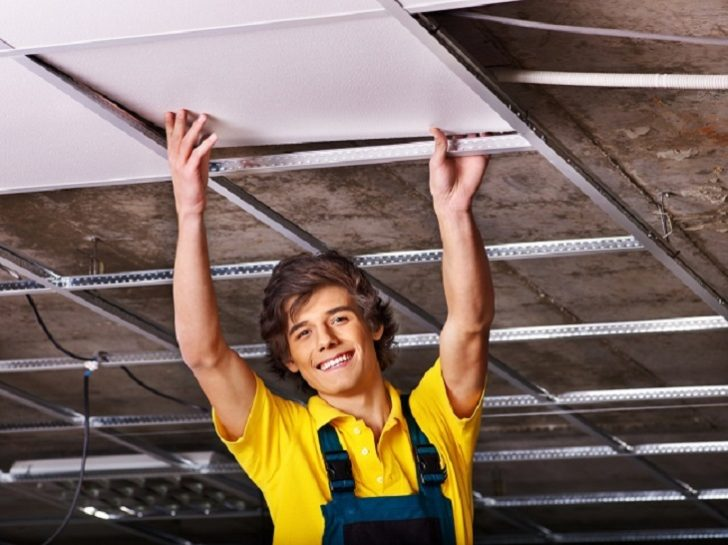 Why Would You Hire Some Suspended Ceiling Contractor smiling