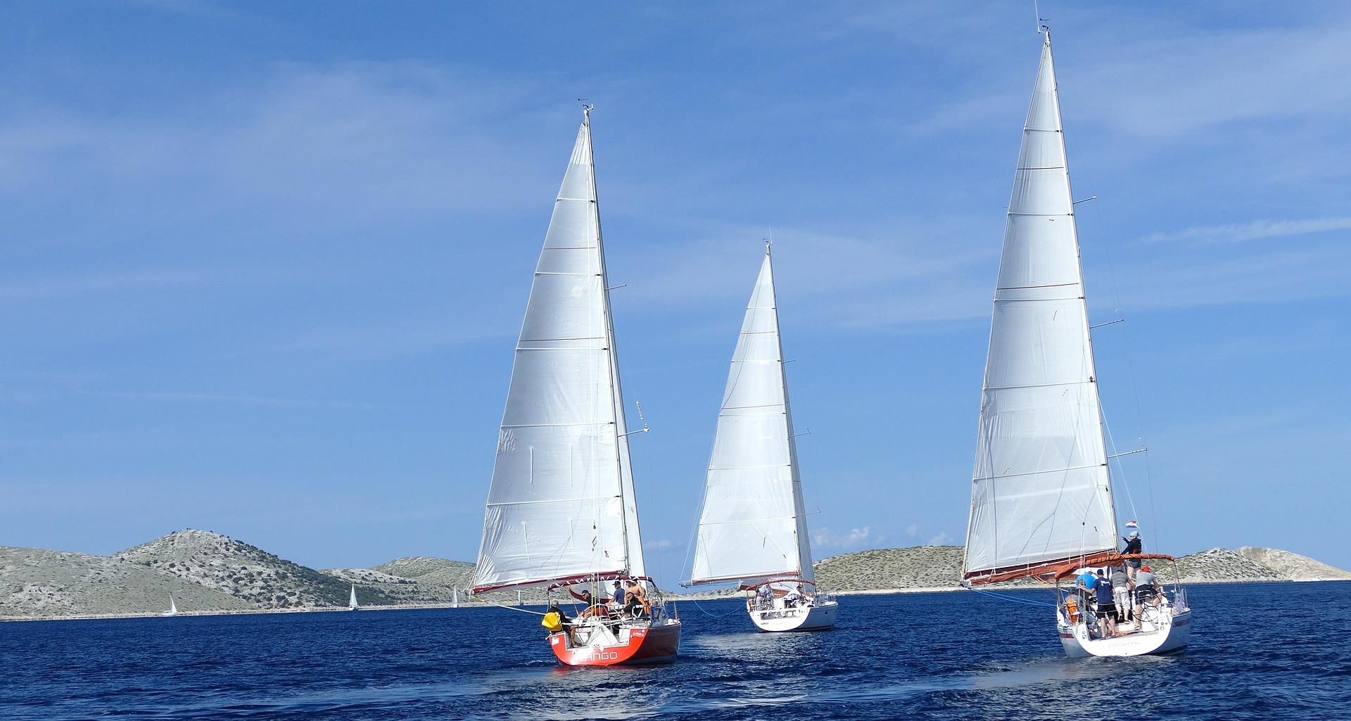 How to be part of Cowes Week Sailing Regatta sails are up