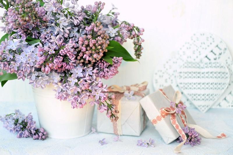 Birthday Flowers pink