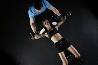10 Ways to Improve Your Fitness girl on bench press